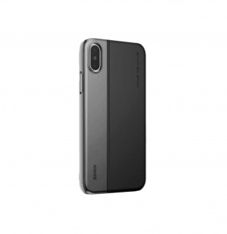 Чехол Baseus Half to Half Case для iPhone X, черный