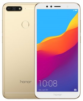Смартфон Honor 7A 16Gb золотой