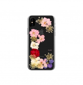 Чехол-накладка FLAVR iPlate Real Flower Grace для iPhone X