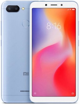 Смартфон Xiaomi Redmi 6 3/32Gb Global, голубой