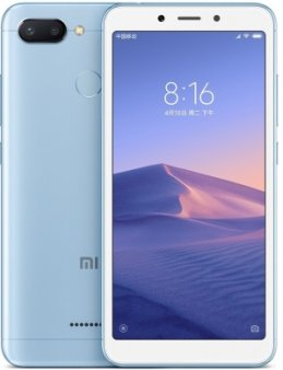 Смартфон Xiaomi Redmi 6 3/64Gb Global, голубой