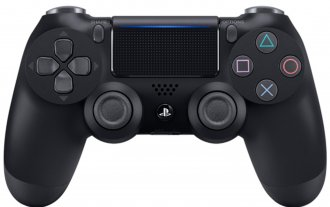 Геймпад Sony Dualshock 4 v2 для Playstation 4, черный