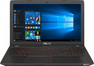 "Ноутбук ASUS FX753VD 17.3"" FHD, Core i5-7300HQ, 8Gb, 1000Gb, GTX1050, DVD, Win 10, RFB"