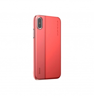 Чехол Baseus Half to Half Case для iPhone X, красный