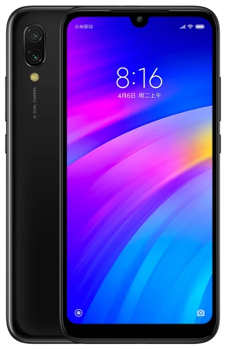 Смартфон Xiaomi Redmi 7 2/16Gb Global, черный