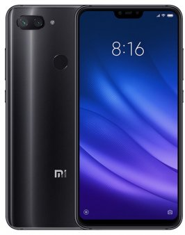 Смартфон Xiaomi Mi8 Lite 4/64GB Global, черный
