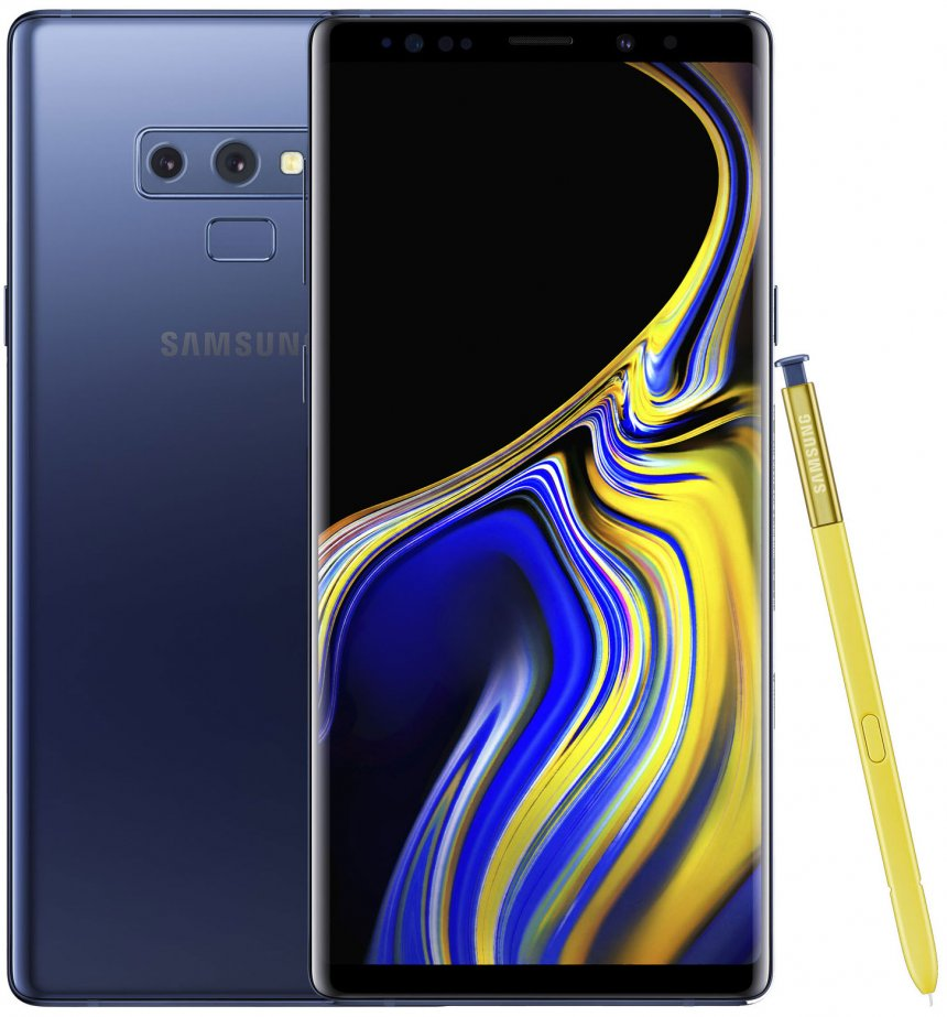 Смартфон Samsung Galaxy Note 9 128Gb 2-SIM синий