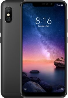 Смартфон Xiaomi Redmi Note 6 Pro 4/64Gb Global, черный
