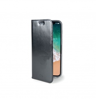 Чехол-книжка Celly Air для Apple iPhone X черный