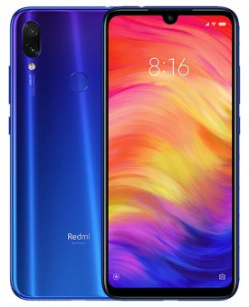 Смартфон Xiaomi Redmi Note 7 3/32Gb Global, синий
