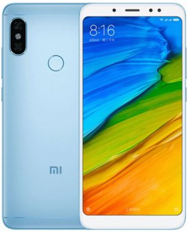 Смартфон Xiaomi Redmi Note 5 4/64Gb Global голубой