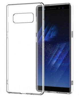 Чехол Celly Gelskin для Galaxy Note 8 прозрачный