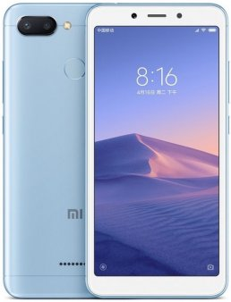 Смартфон Xiaomi Redmi 6 4/64Gb Global, голубой