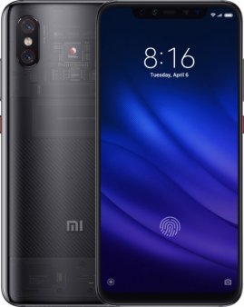 Смартфон Xiaomi Mi8 Pro 8/128GB Global, черный