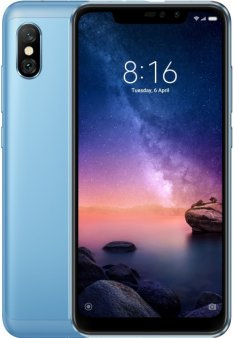 Смартфон Xiaomi Redmi Note 6 Pro 4/64Gb Global, голубой
