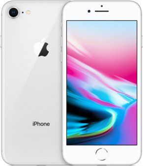 Смартфон Apple iPhone 8 128Gb серебристый