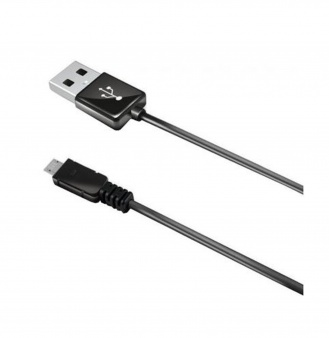 Кабель Celly micro-USB - USB 2.1 А черный