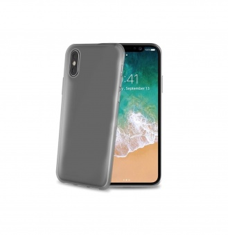 Чехол-накладка Celly Gelskin для Apple iPhone X черный