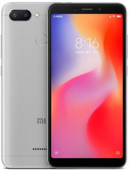 Смартфон Xiaomi Redmi 6 4/64Gb Global, серый