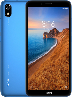 Фотография Смартфон Xiaomi Redmi 7A 2/16Gb Global, синий