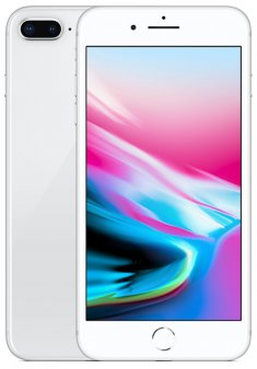 Смартфон Apple iPhone 8 Plus 64Gb серебристый