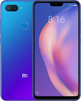 Смартфон Xiaomi Mi8 Lite 4/64GB Global, синий