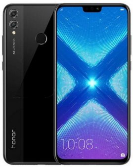 Смартфон Honor 8X 4/64Gb черный