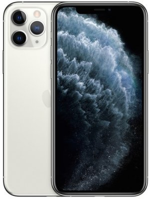 Фотография Смартфон Apple iPhone 11 Pro 256Gb серебристый